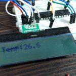【PICマイコン】26円の温度計を作る(PIC16F1938,アキシャルサーミスタ204CT)