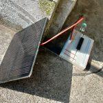 ソーラーパネルを電子工作に使おう【ブレッドボードに刺せるよう変換】