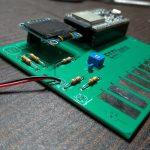ESP32-DevKitCを挿してタッチピアノにする基板「ESPiano」を作った