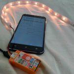 M5Stick-CとNeopixelでろうそく風の明かりを作る